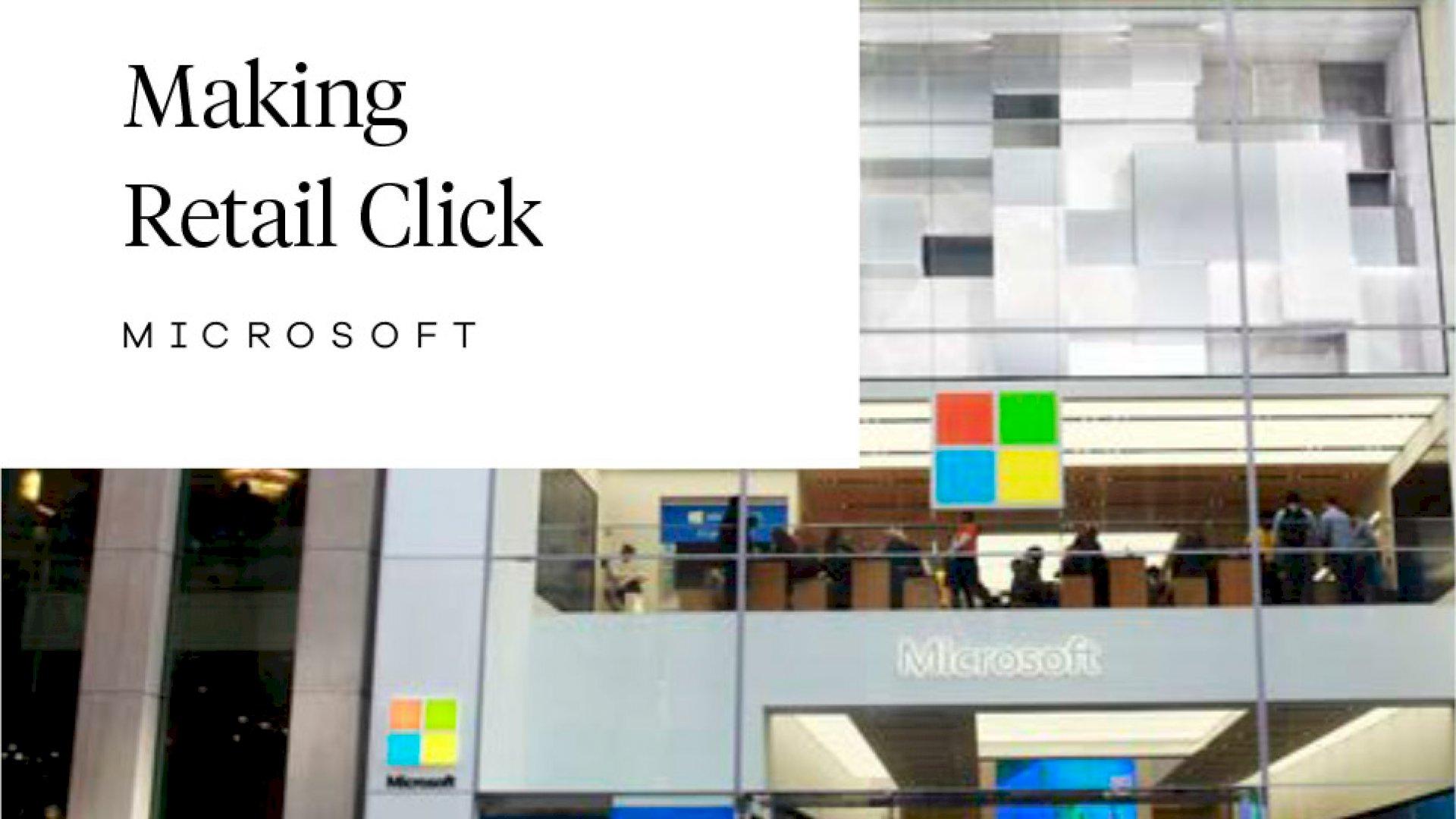 Microsoft  -  NYC ANTHEM & RETAIL CONTENT