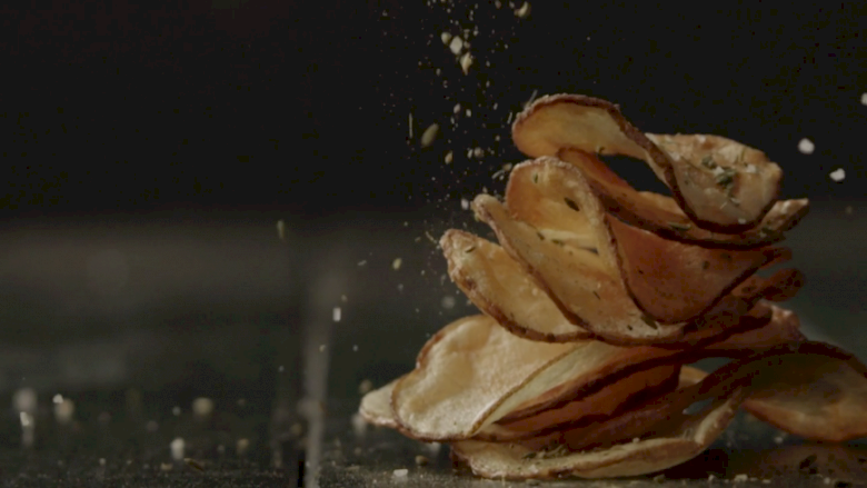 """Rustic Potato Chips"""