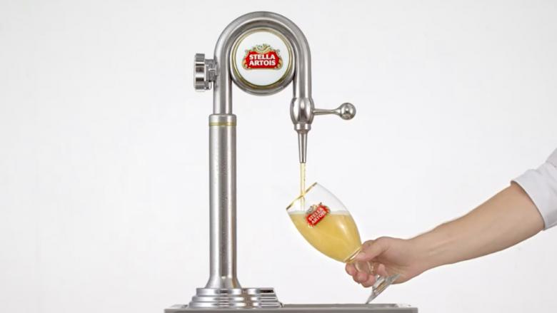 """Stella Artois - """"Draught Master"""""""