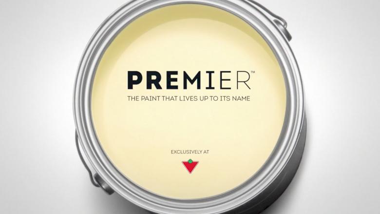 Canadian Tire - Premier Paints Montage