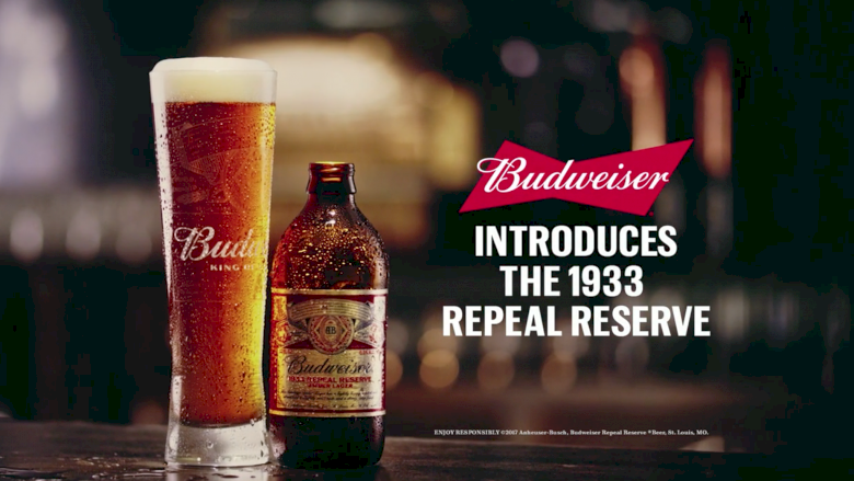 "Budweiser - ""1933 Repeal Reserve"""